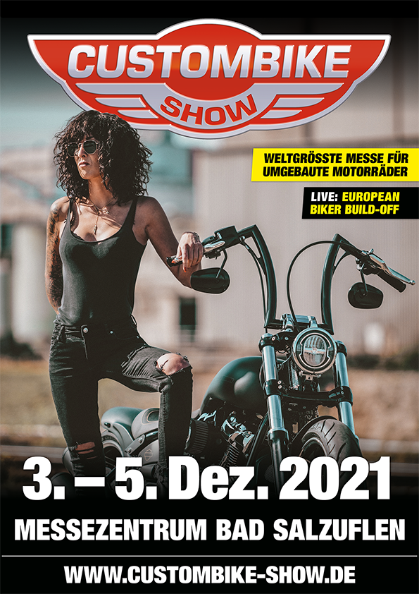 CUSTOMBIKE-SHOW 2021 Plakat