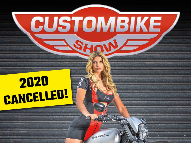 Custombike-Show 2020 cancelled